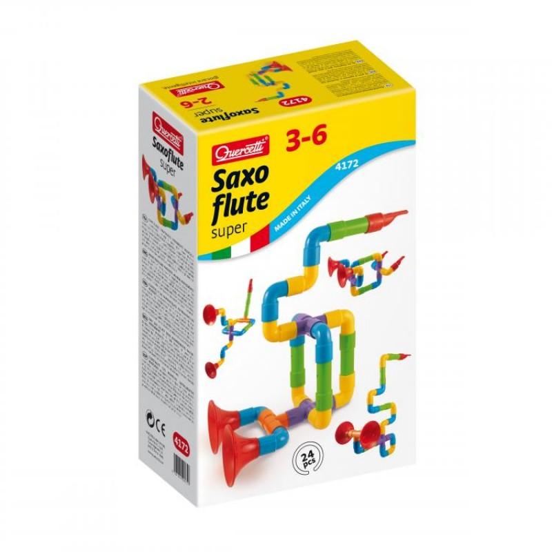 Super Saxoflut Quercetti, 24 piese, 2 ani+ 2021 shopu.ro