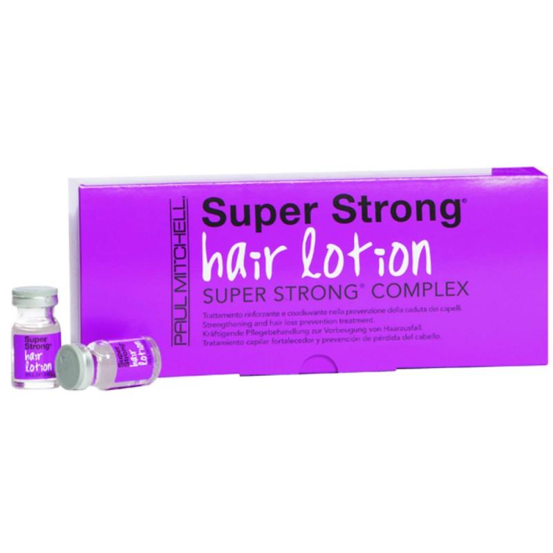 Tratament impotriva caderii parului Super Strong Paul Mitchell, 12 fiole