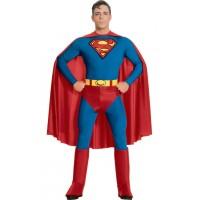 Costum pentru baieti Superman, varsta 5-6 ani, marime M
