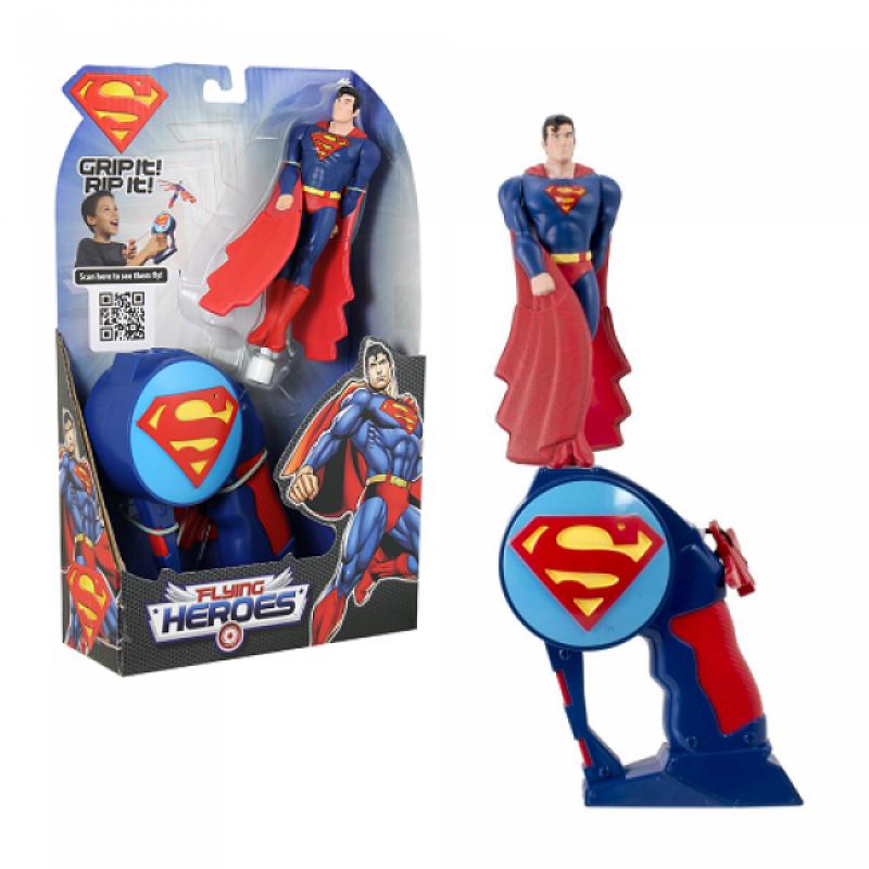 Lansator super-eroi Superman zburator, 43 x 33 x 19 cm, 4 ani+ 2021 shopu.ro