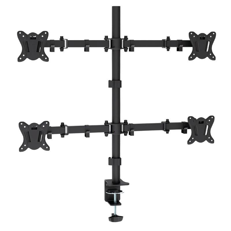 Suport pentru 4 monitoare Omega, 13-27 inch, maxim 8 kg 2021 shopu.ro