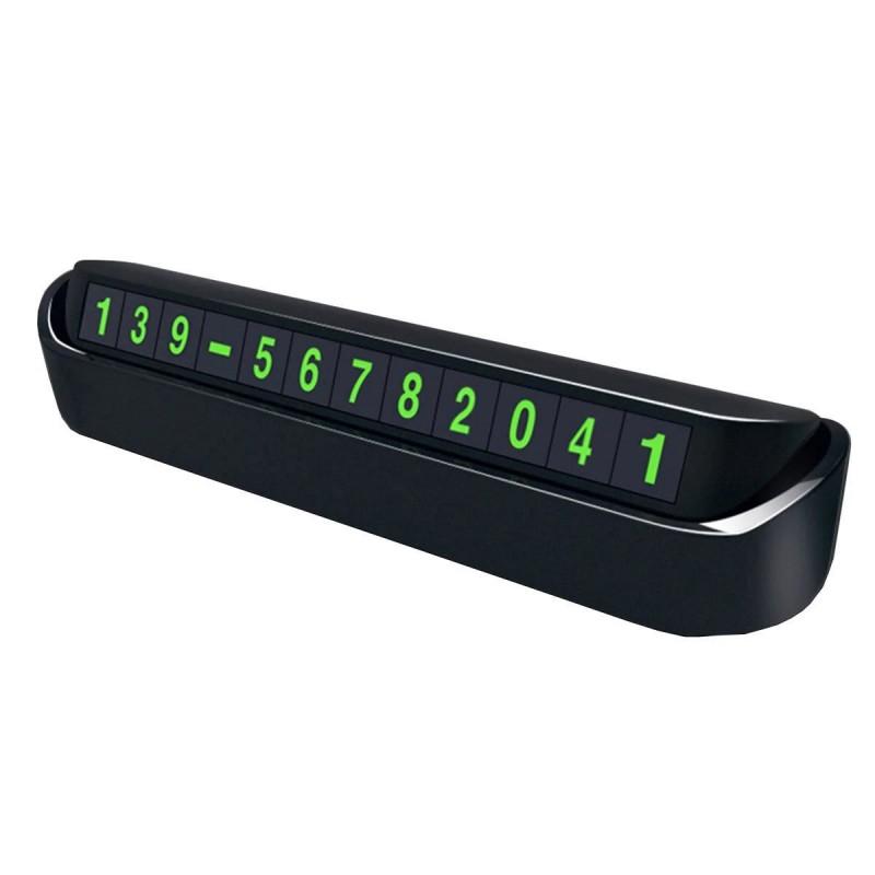 Suport afisaj numar telefon Siegbert, 13 x 3.5 cm, Negru 2021 shopu.ro