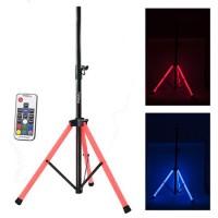 Suport boxa iluminata LED RGB, telecomanda inclusa, suporta maxim 30 kg