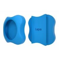 Suport silicon pentru atasat la zgarda localizatorului Lapa, bluetooth, Bleu