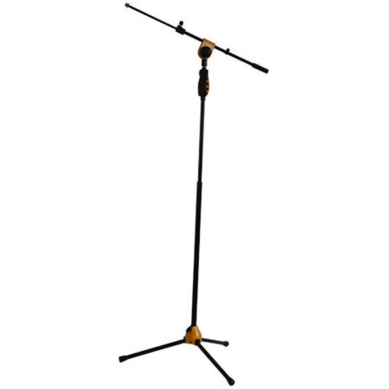 Suport de microfon SM006YE, reglabil, telescopic, 115-170 cm, galben 2021 shopu.ro