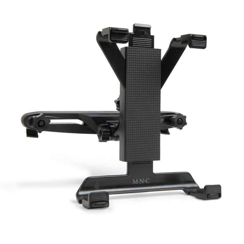 Suport universal pentru tableta MNC, 22 x 15 x 15 cm, 7-10 inch, reglabil 360 grade, plastic, Negru 2021 shopu.ro