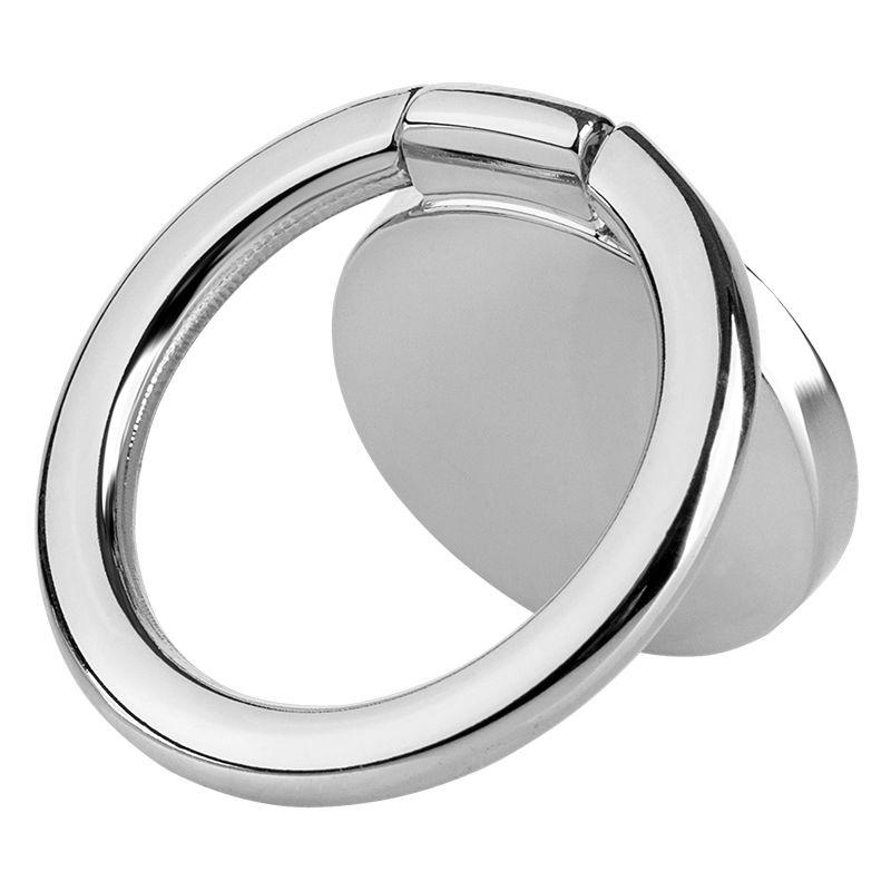 Suport universal M-life pentru telefon, tip inel, Argintiu