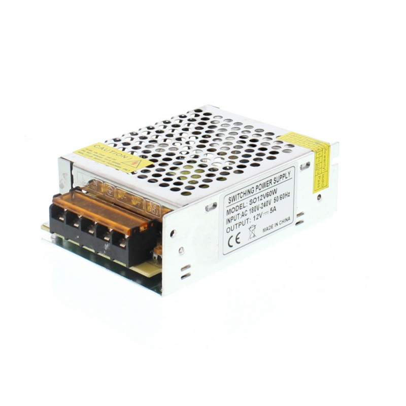 Sursa in comutatie AC-DC Well, 60 W, 12 V, 5.0 A 2021 shopu.ro
