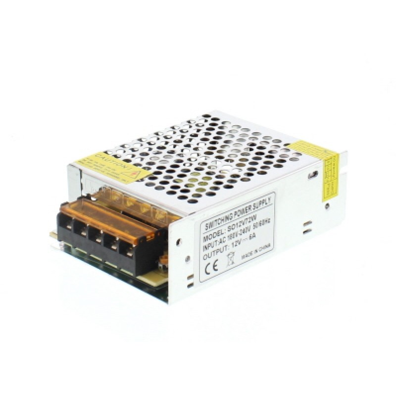 Sursa in comutatie AC-DC Well, 72 W, 12 V, 6.0 A 2021 shopu.ro
