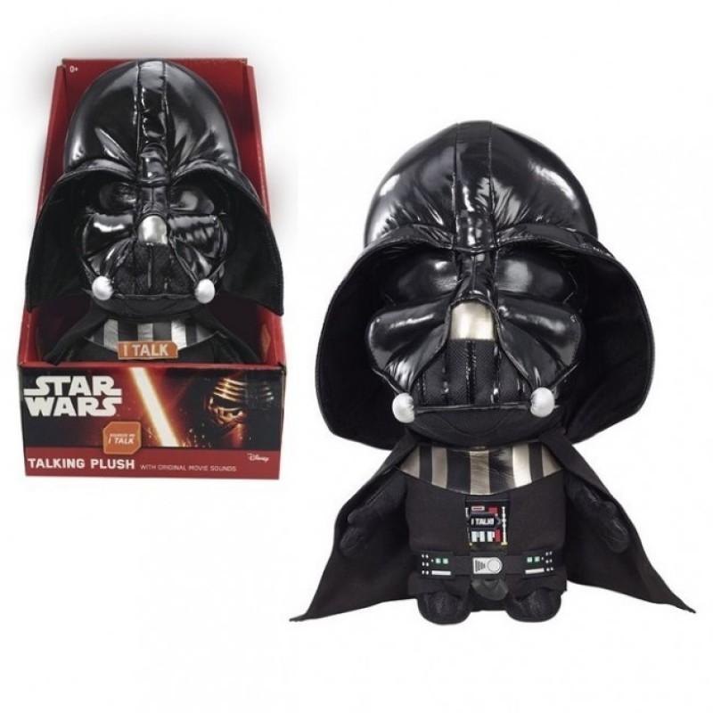 Mascota de plus Darth Vader, 22 cm, sunete 2021 shopu.ro