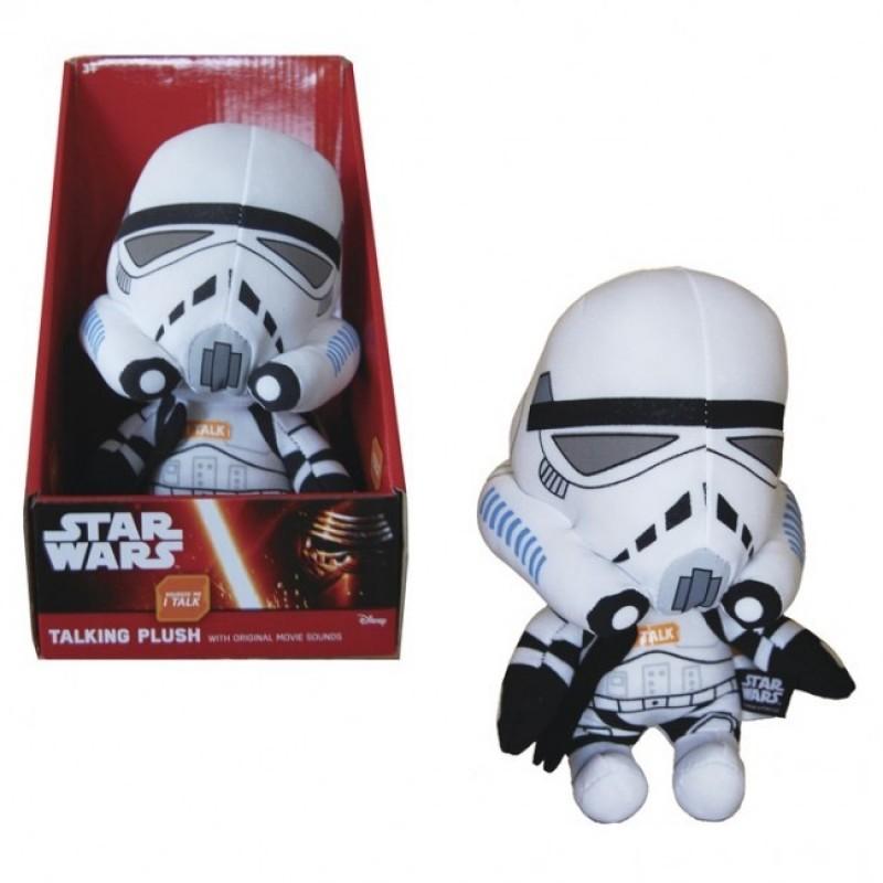Mascota de plus Villain Trooper White, 22 cm, sunete