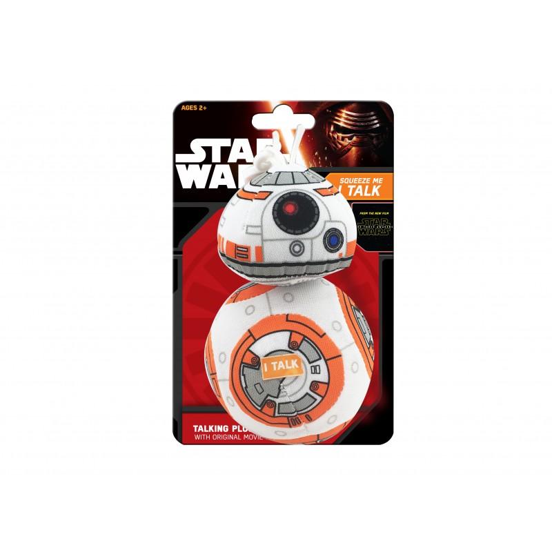 Mini mascota de plus Star Wars BB-8, 12 cm, sunete