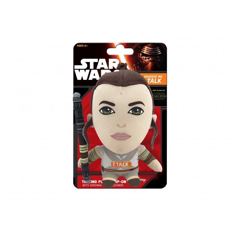 Mini mascota de plus Star Wars Lead Hero, 12 cm, sunete