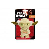 Mini mascota de plus Star Wars Yoda, 12 cm, sunete