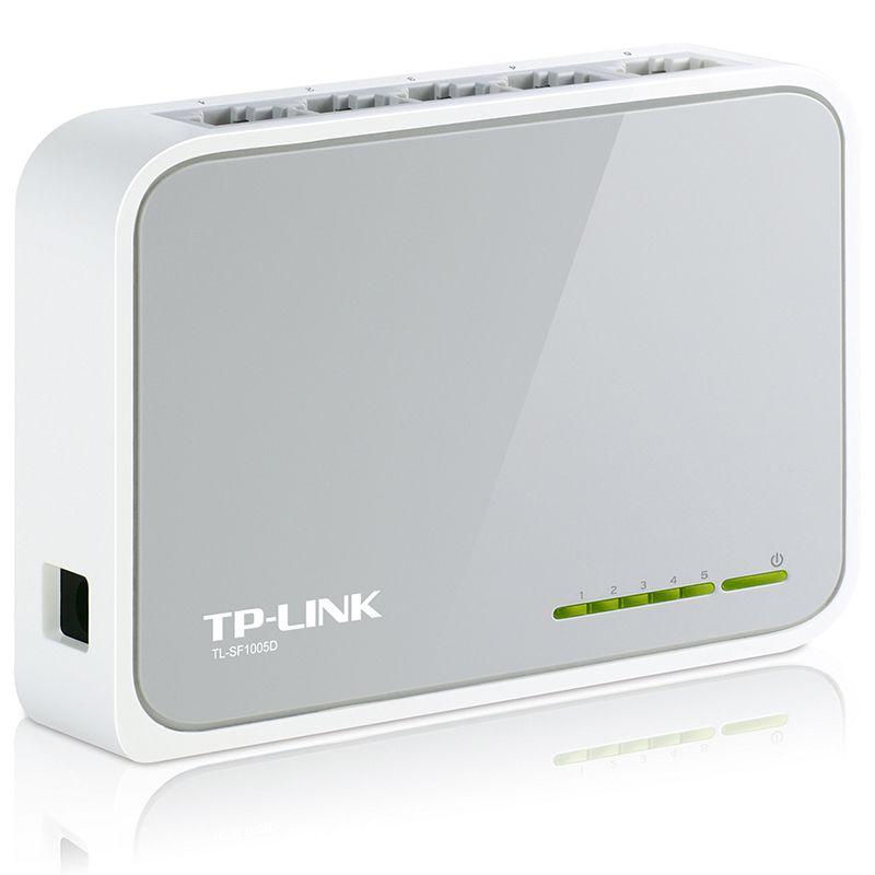 Switch 5 Porturi 10/100 Mpbs TL-SF1005D TP-Link