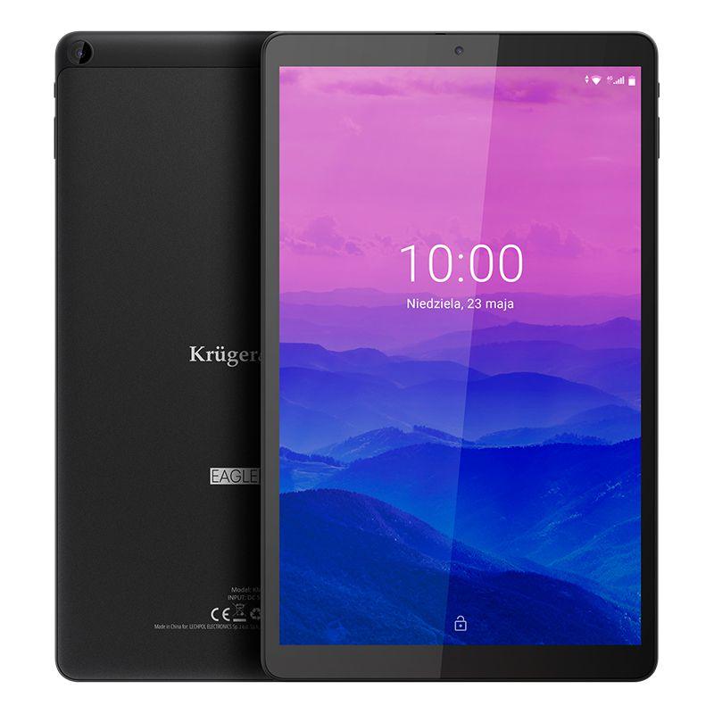 Tableta LTE Eagle Kruger Matz, 4 RAM, 64 GB, 6000 mAh, radio FM, senzor G, slot card SD 2021 shopu.ro