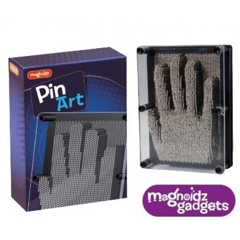 Tablou Pin Art Keycraft, 2000 de pini metalici, imagine 3D, 18 cm, 8 ani+ 2021 shopu.ro