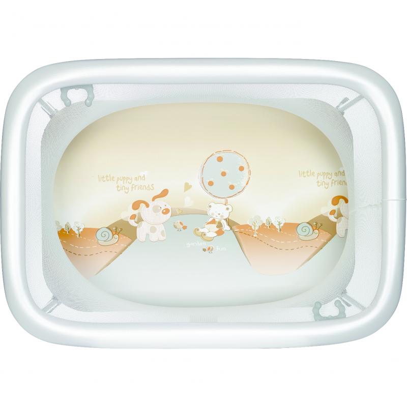Tarc de joaca Comodo Plebani, compact, gri imagine