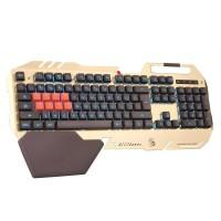 Tastatura Gaming B418 A4Tech, USB, 107 taste, iluminare Neon Glare