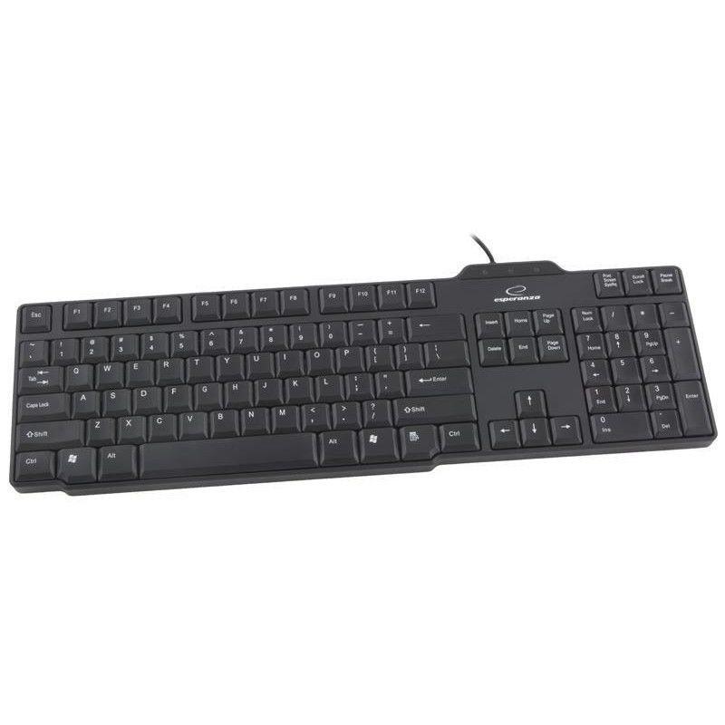 Tastatura standard USB Buffalo Esperanza, 104 taste imagine