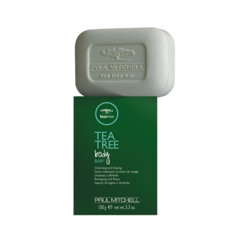Sapun de barbierit Tea Tree Body Bar, 150 ml, efect antibacterian 2021 shopu.ro