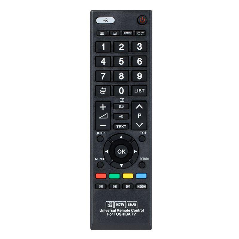 Telecomanda universala LED TV Toshiba, Negru 2021 shopu.ro