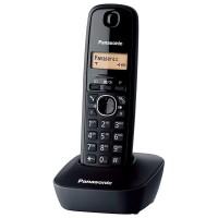 Telefon fix 1611 PHD Panasonic, ecran LCD, 50 inregistrari, memorie reapelare, acumulator, Negru