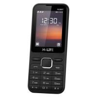 Telefon GSM M-life ML600, ecran 2.4 inch, Bluetooth, Negru