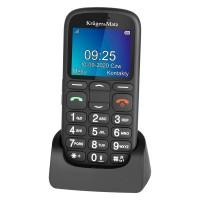 Telefon GSM pentru seniori Kruger&Matz Simple, ecran 2.2 inch, Bluetooth 2.1, 800 mAh, radio FM, Video Player, Negru