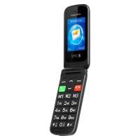 Telefon GSM Seniori Simple Kruger & Matz, 2.4 inch, 240 x 320 px, 32 MB, Li-Ion, 1000 mAh, Bluetooth 2.0, dual SIM