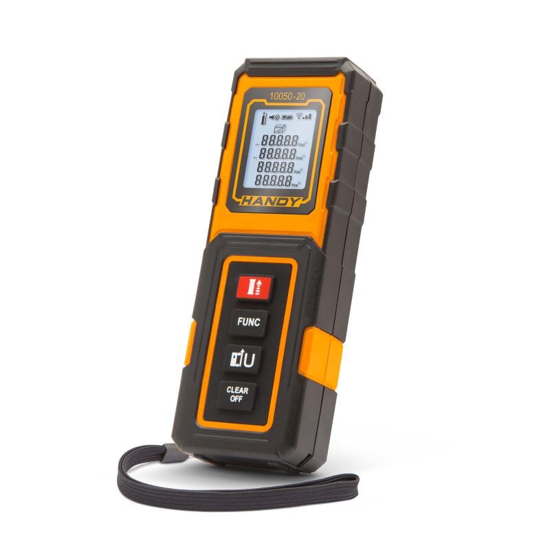 Telemetru laser Handy, 20 m, precizie 20 mm, 3000 masuratori, clasa 2 2021 shopu.ro