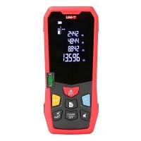 Telemetru digital LM60 UNI-T, afisare HD, calcul rapid, precizie milimetrica