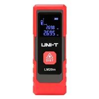 Telemetru Uni-T, ecran LCD, 20 m, ecran 1/2 inch, laser tip 630 ~ 670 Nm
