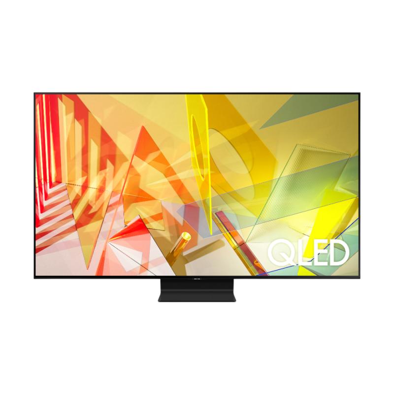 Televizor Smart Samsung, diagonala 138 cm, 4K Ultra HD, QLED, Clasa B, Multi View, control vocal, Negru