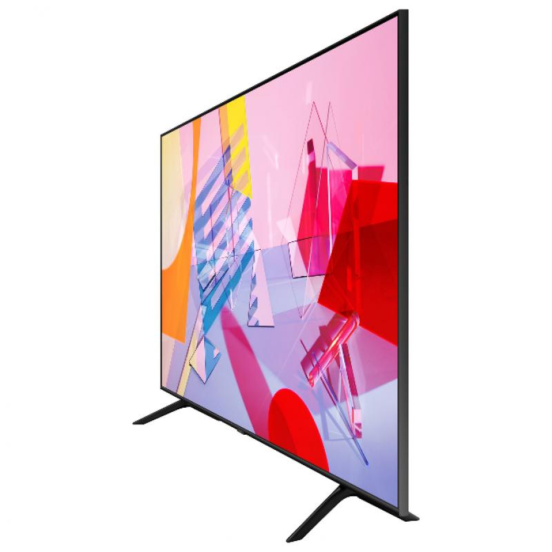 Televizor Smart Samsung, diagonala 189 cm, 4K Ultra HD, QLED, Clasa A+, Dual LED, Quantum HDR, control vocal, Negru
