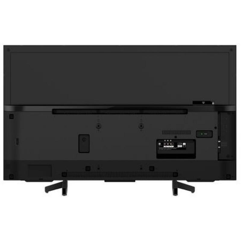 Televizor Smart LED Sony Bravia, diagonala 123 cm, 4K Ultra HD, conectivitate WI-Fi, sistem operare Linux, Cinema Suround, Negru