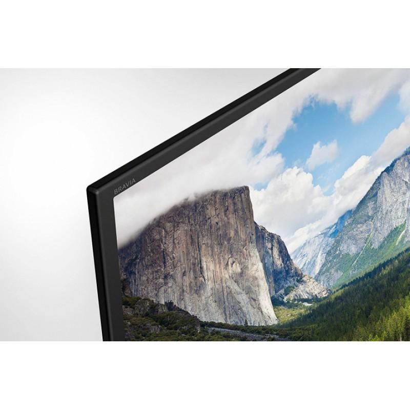 Televizor Smart LED Sony Bravia, diagonala 125 cm, Full HD, tehnologie HDR, ClearAudio+, Negru