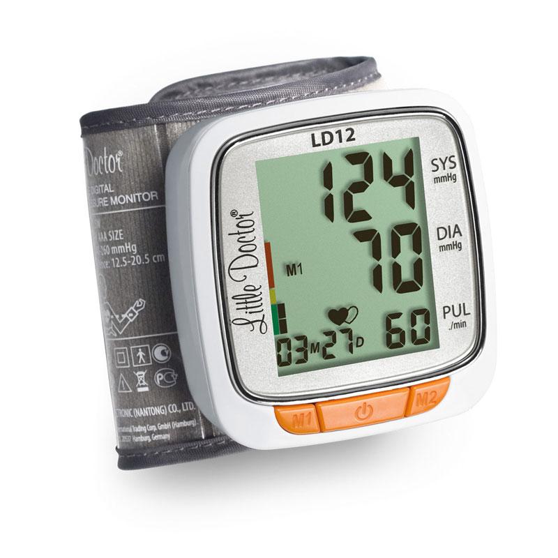Tensiometru electronic de incheietura Little Doctor LD 12, detectare aritmie, indicator WHO 2021 shopu.ro