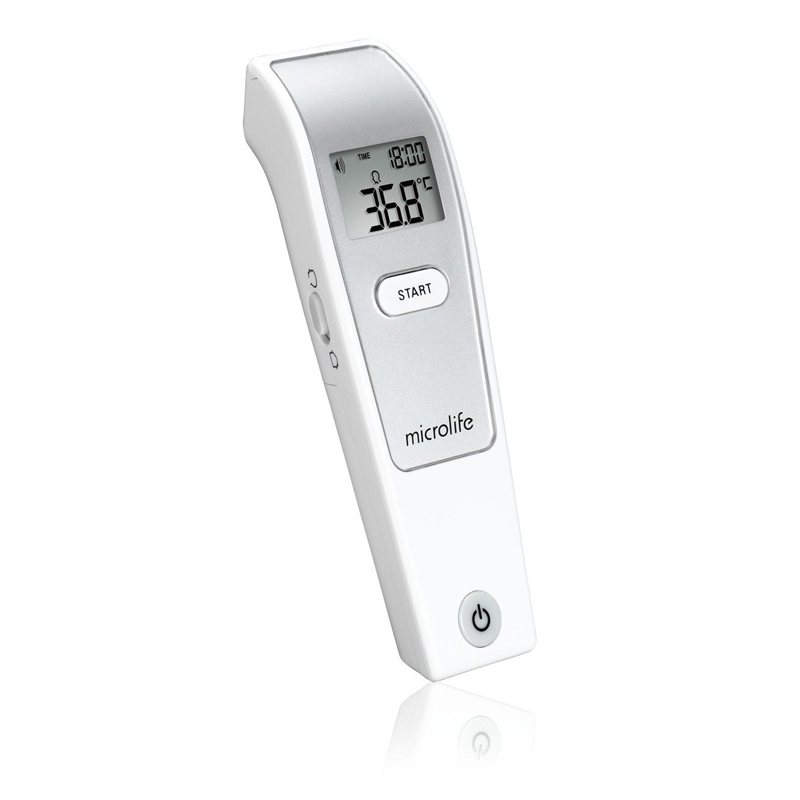 Termometru inflarosu Microlife, masurare in 3 secunde, ecran LCD, 30 masuratori 2021 shopu.ro