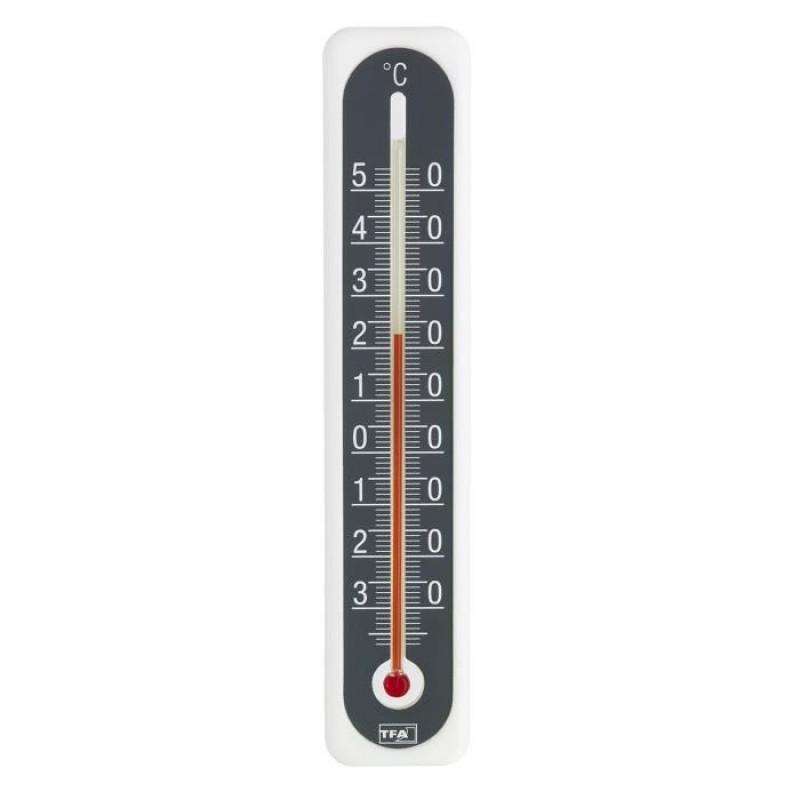 Termometru interior/exterior cu lichid TFA, alcool etilic 2021 shopu.ro