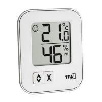 Termometru si higrometru de camera TFA, LCD, design modern