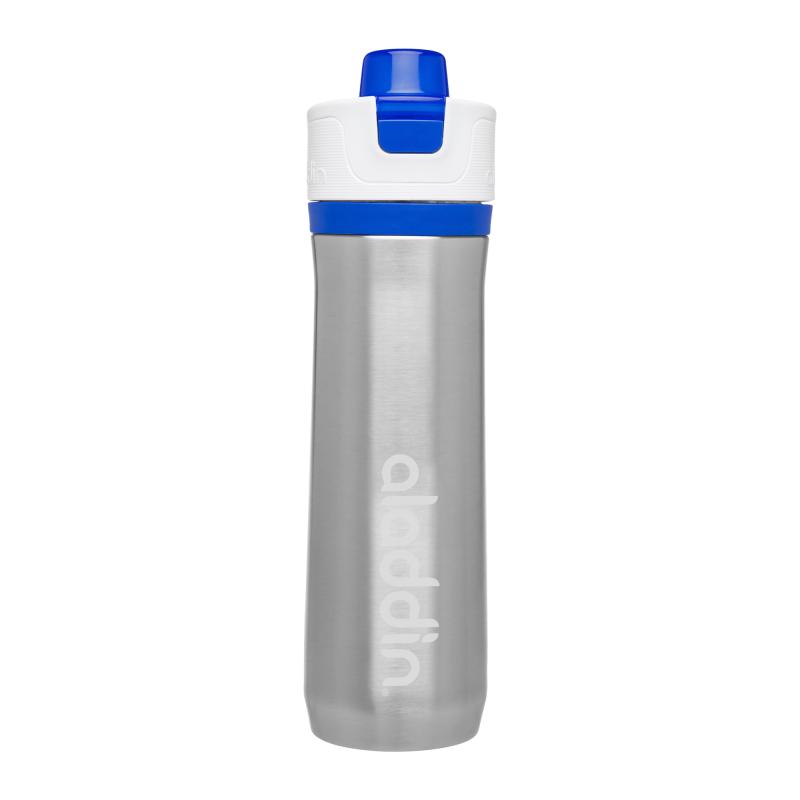 Termos Active Hydration Aladdin, 600 ML, perete dublu, interior vidat, inox, Albastru 2021 shopu.ro