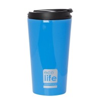 Termos cafea EcoLife, 370 ml, Light blue