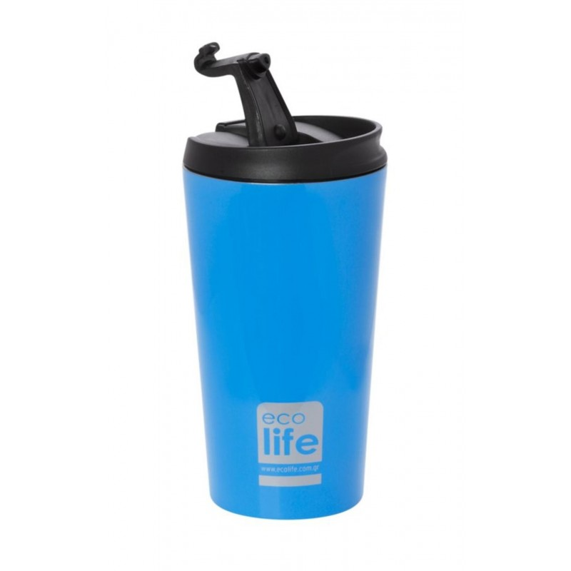 Termos cafea EcoLife, 370 ml, Sky blue