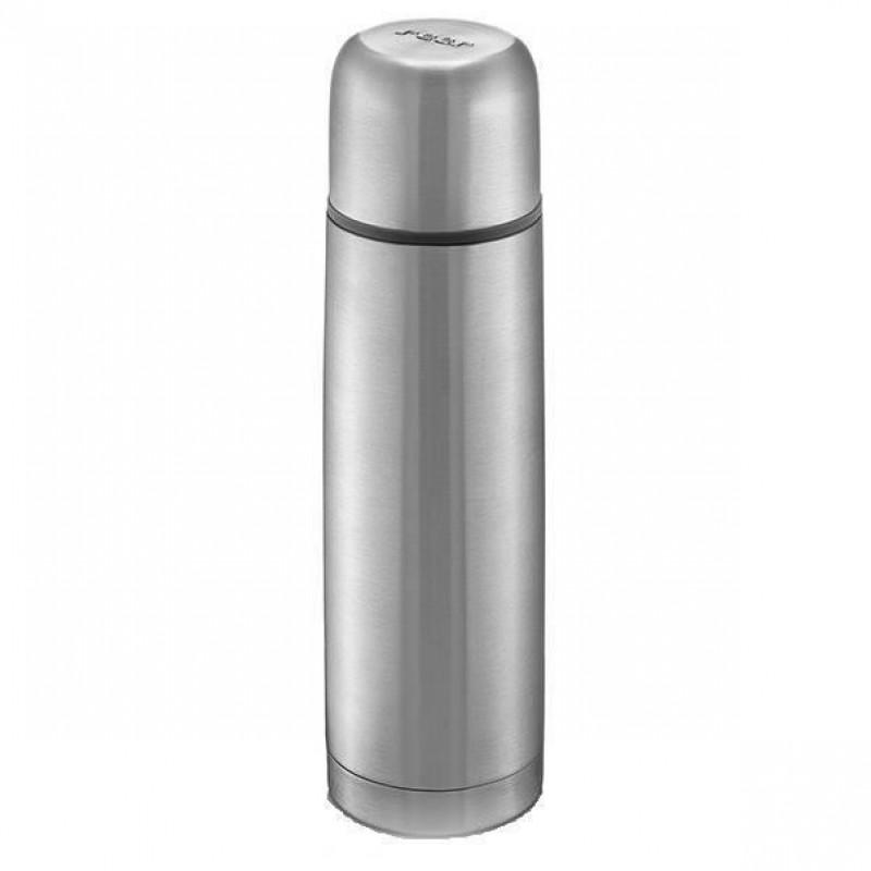 Termos Pure Reer, 450 ml, 6 x 24 cm, otel inoxidabil, Gri 2021 shopu.ro