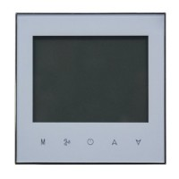 Termostat Smart, senzor NTC 3950, 2 cai, protectie IP20, Alb