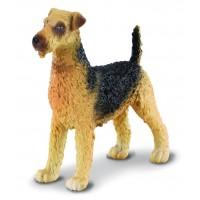 Figurina Terrierul Airedale Collecta, 6.5 cm, 3 ani+