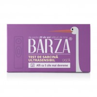 Test sarcina Barza Card Ultra Sensitive, rezultat 3 minute, tip caseta
