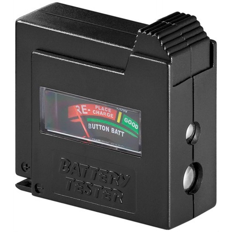 Tester pentru baterie Goobay, afisaj analog 2021 shopu.ro