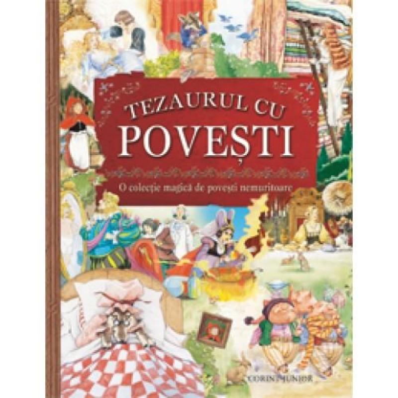 Carte pentru copii Tezaurul cu povesti, 352 pagini 2021 shopu.ro